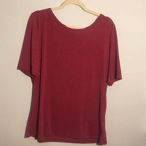 Red Gigi fitted top 💗 NWOT